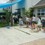 ECCジュニア三田川教室 夏祭り 水風船投げ④