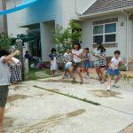 ECCジュニア三田川教室 夏祭り 水風船投げ③