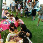ECCジュニア三田川教室 夏祭り ヨーヨー釣り スーパーボールすくい