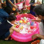 ECCジュニア三田川教室 夏祭り ヨーヨー釣り